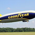 Goodyear Zeppelin NT by Karl R. Martin