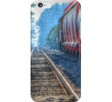 Side Tracked iPhone Case/Skin
