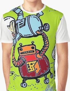 Robot Ape Goes Berserk Graphic T-Shirt