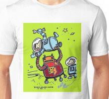 Robot Ape Goes Berserk Unisex T-Shirt