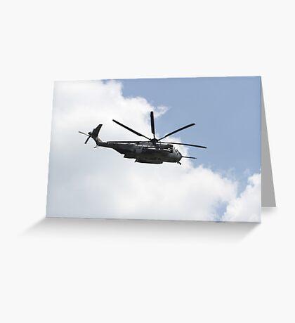 Sikorsky CH-43 Sea Stallion Greeting Card
