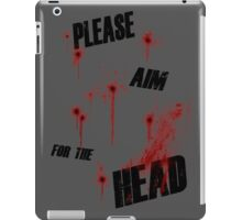 I'm a zombie... iPad Case/Skin