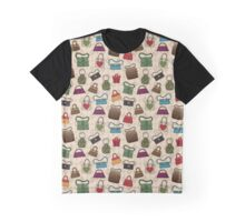 Too Many Bags Never Graphic T-Shirt