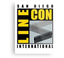 San Diego Line Con International Metal Print