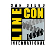 San Diego Line Con International Photographic Print