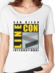 San Diego Line Con International Women's Relaxed Fit T-Shirt