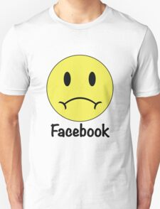 Facebook Sadface T-Shirt