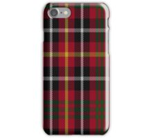 01525 Akins Red Dress Tartan  iPhone Case/Skin
