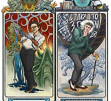 K-Science, Mucha Style! by Sarah Myer
