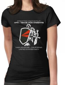 VFA-154 BLACK KNIGHTS SQUADRON T-SHIRTS Womens Fitted T-Shirt