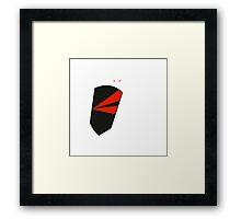 VFA-154 BLACK KNIGHTS SQUADRON T-SHIRTS Framed Print