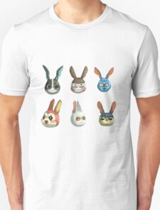 Animal Crossing Rabbits Unisex T-Shirt