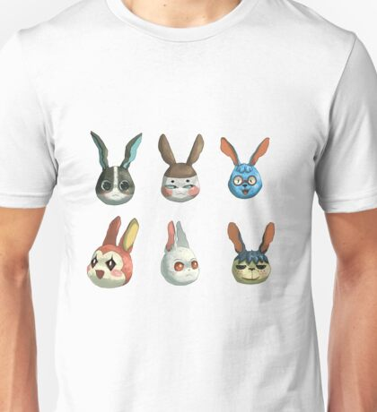 Animal Crossing Rabbits Unisex T-Shirt