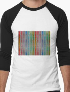 Binary Colours Men's Baseball ¾ T-Shirt