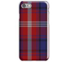 01519 Ainslie Clan/Family Tartan  iPhone Case/Skin