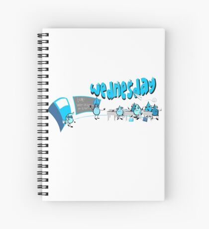 Days of the week - Wednesday Spiral Notebook