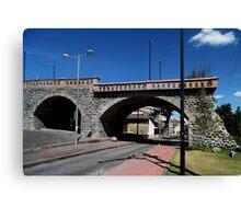 Puente Roto or Broken Bridge Canvas Print