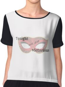 Tonight We Are Victorious  Chiffon Top