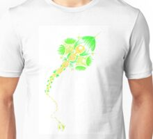 Abstract kite - green and yellow Unisex T-Shirt