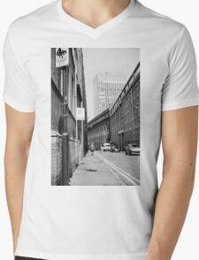 Wimbledon Street in the Sun Mens V-Neck T-Shirt