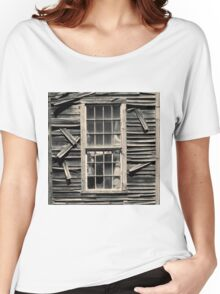 Old Mill Window Toned Women's Relaxed Fit T-Shirt