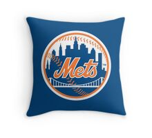 New York Mets - Royal Blue Throw Pillow
