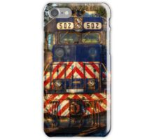On The Side Track iPhone Case/Skin