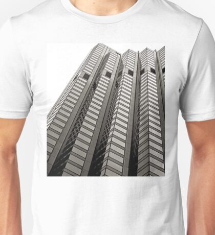 B&W - High Rise Office Building Unisex T-Shirt