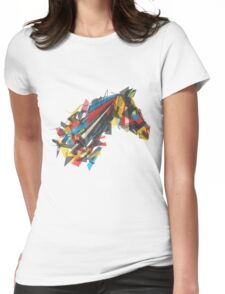 beygir (horse) Womens Fitted T-Shirt