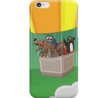 Balloon Birds (flight of the flightless) iPhone Case/Skin