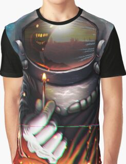 184, Let's Burn It Down Graphic T-Shirt