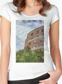 A boston View 46 Women's Fitted Scoop T-Shirt