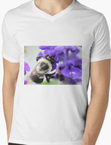 Soggy Bumble Mens V-Neck T-Shirt