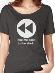 Take Me Back to the Start Women's Relaxed Fit T-Shirt