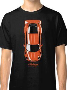 Porsche GT3 RS (top view) Classic T-Shirt