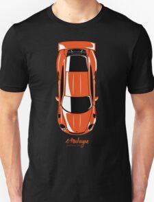 Porsche GT3 RS (top view) Unisex T-Shirt