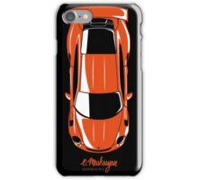 Porsche GT3 RS (top view) iPhone Case/Skin