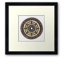 Moonrise Mandala Framed Print