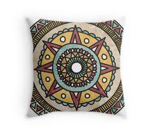 Moonrise Mandala Throw Pillow