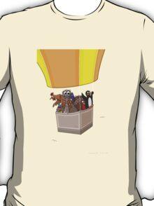 Balloon Birds (flight of the flightless) T-Shirt