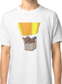 Balloon Birds (flight of the flightless) Classic T-Shirt