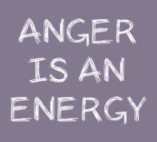 Anger Is An Energy Kids Tee