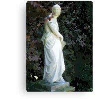 Statue for painting by numbers Canvas Print