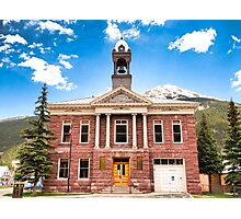 Silverton City Hall Photographic Print