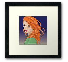 Sansa Stark Framed Print