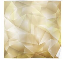 Abstract Geometric Background Poster