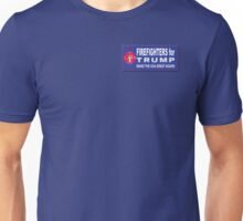 Firefighters for Trump Unisex T-Shirt