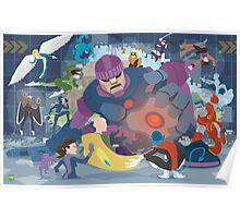 X-Men vs. Senitnels Poster