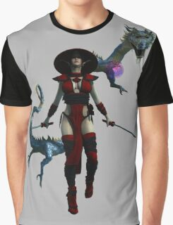 Onna-Bugeisha  Graphic T-Shirt