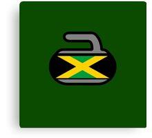 Jamaica Rocks! - Curling Rockers Canvas Print